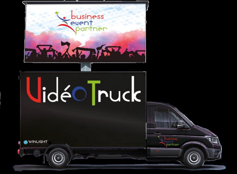 Video-truck écran mobile événementiel